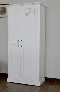 Art. 25 - Mobile lavanderia in legno: portascope e scarpiera ...